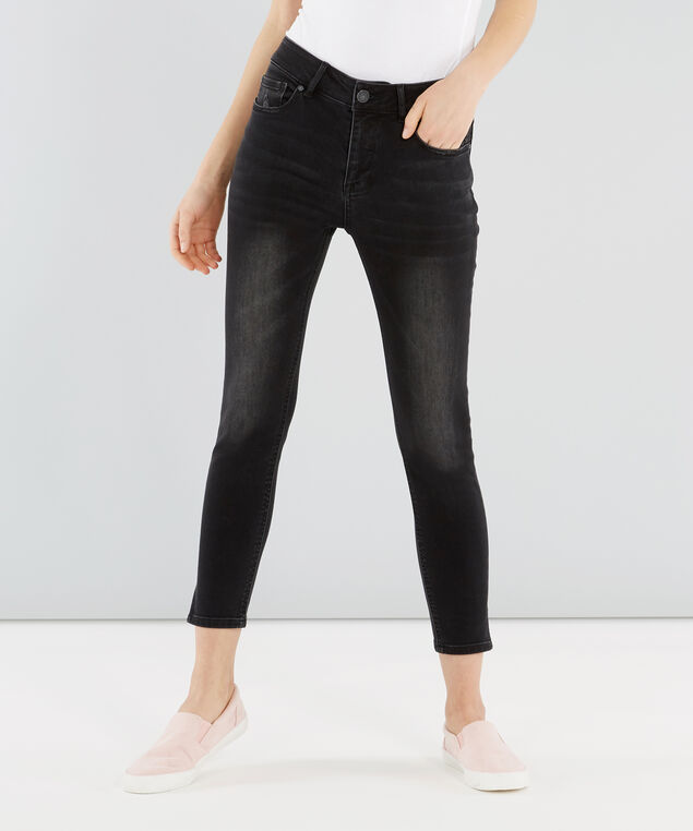 skinny black side slit, , hi-res