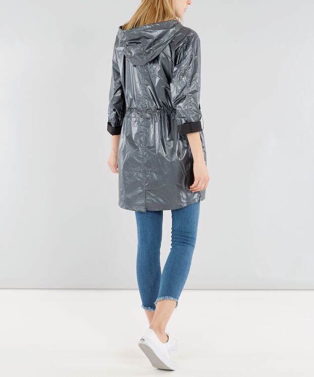metallic jacket - wb, BLACK, hi-res