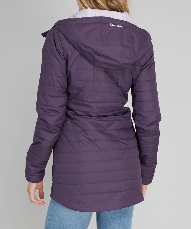 puffer jacket with hood - wb, NIGHTSHADE, hi-res
