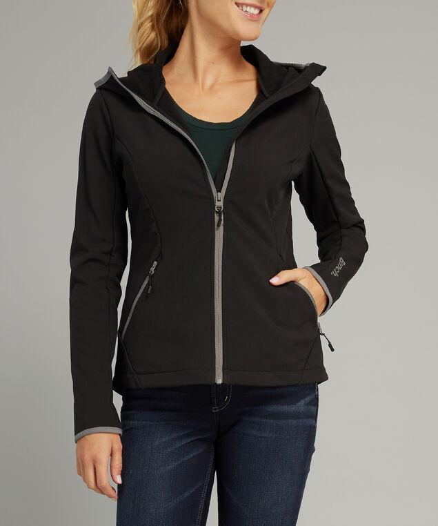 short bonded jacket - wb, BLACK, hi-res