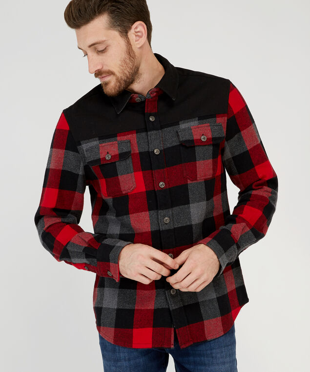 jimmy h18, RED CHECK, hi-res