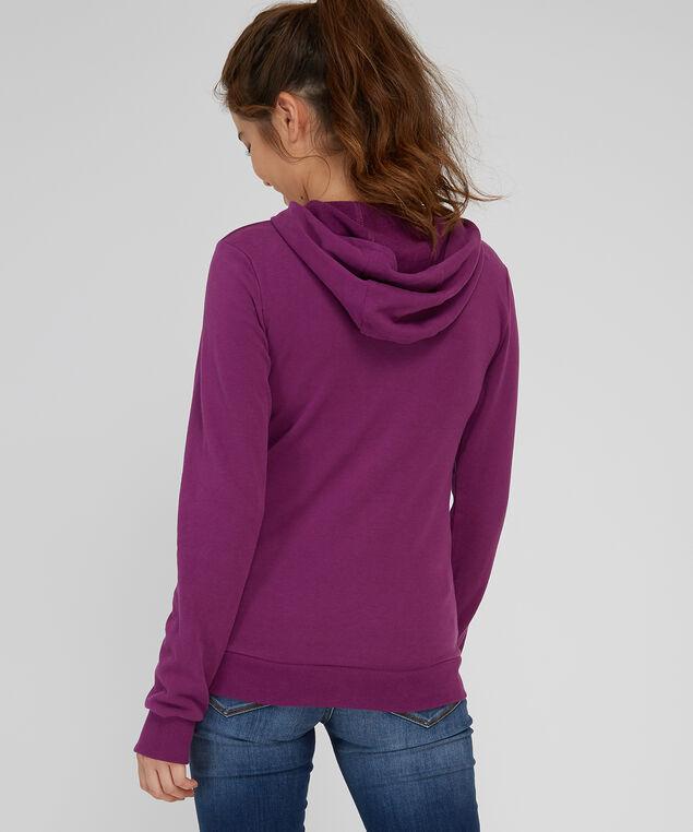 pullover hoodie - wb, PLUM, hi-res