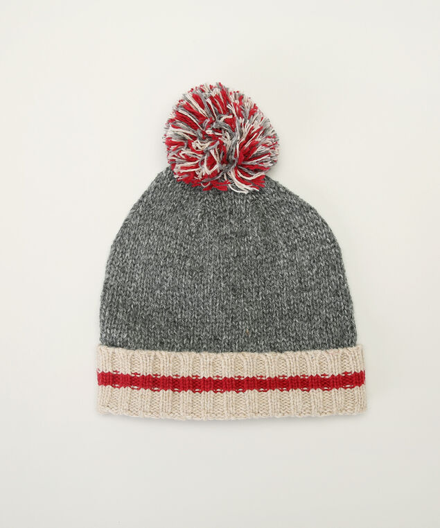 cabin toque, GREY/RED, hi-res