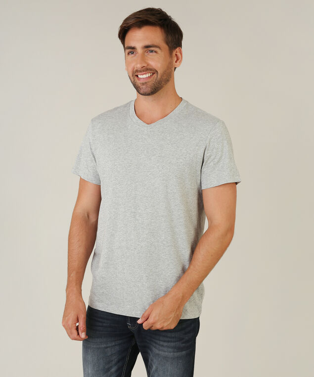 owen v-neck, GREY MELANGE, hi-res