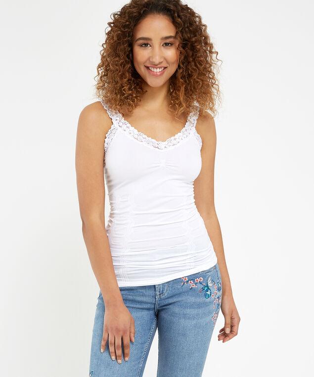 long lace core, WHITE, hi-res