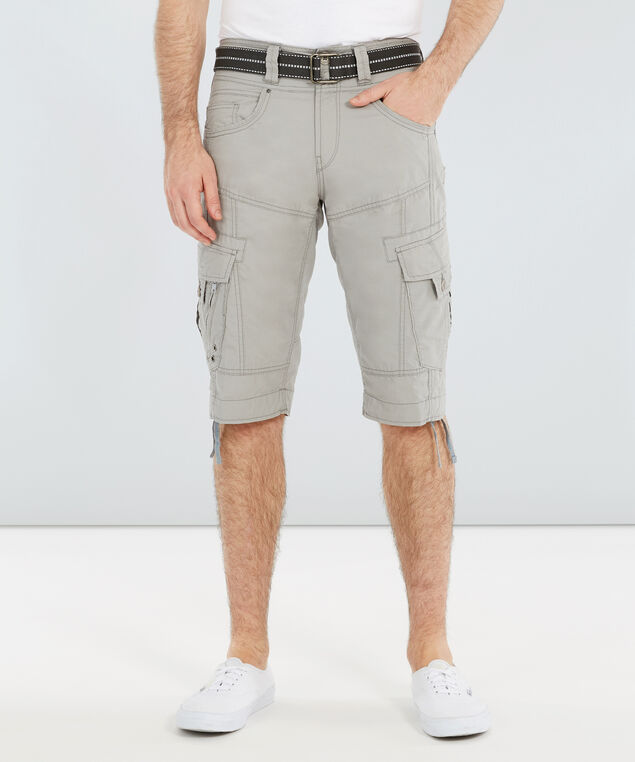 belted ripstop cargo short - wb, ALLOY, hi-res