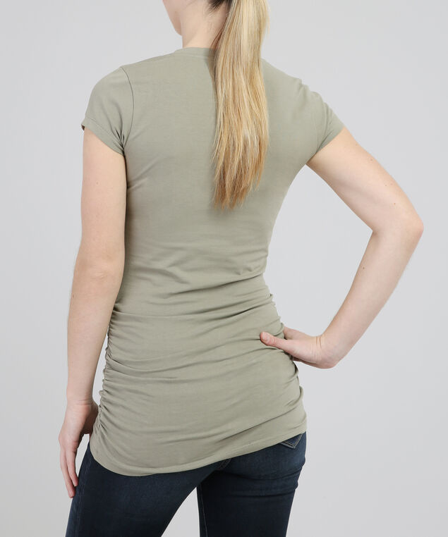 jenny ruched st18, DUSTY OLIVE, hi-res
