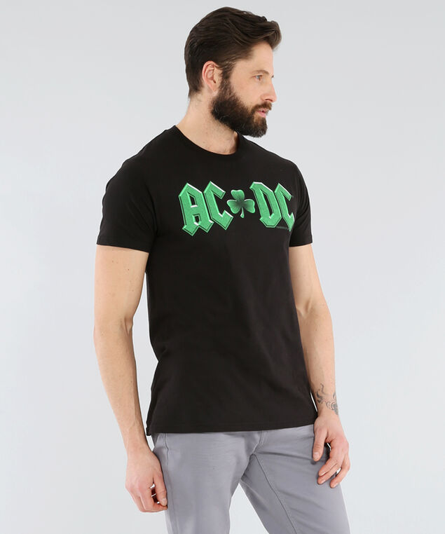 acdc st patrick's day tee, BLACK, hi-res
