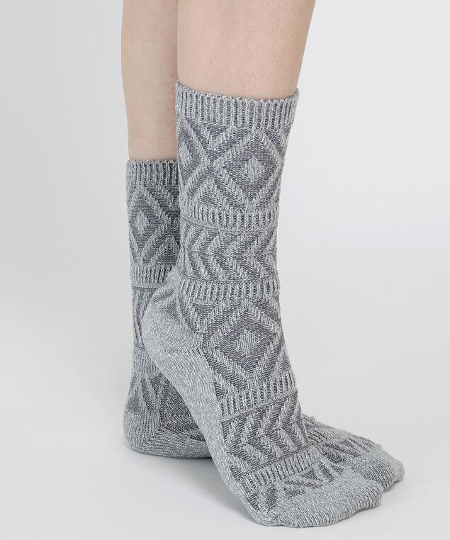 aztec socks, LIGHT GREY, hi-res