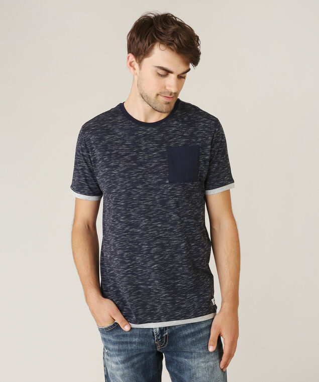 spacedye tee with pocket - wb, NAVY, hi-res