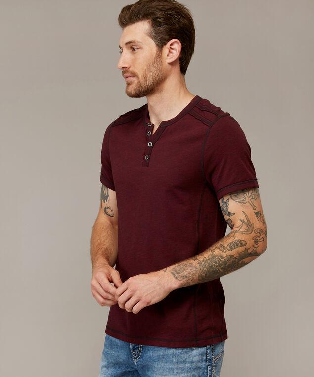 wendell short sleeve f18, WINE BLACK, hi-res