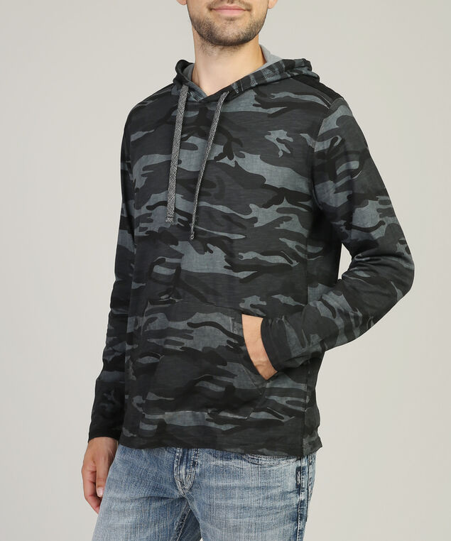 camo hoodie, CHARCOAL CAMO, hi-res