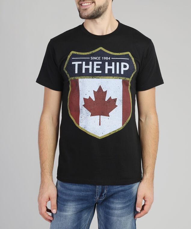 tragically hip tshirt, BLACK, hi-res
