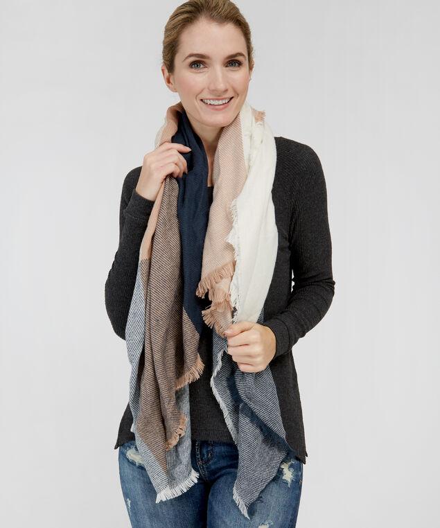 square plaid scarf, ECLIPSE, hi-res