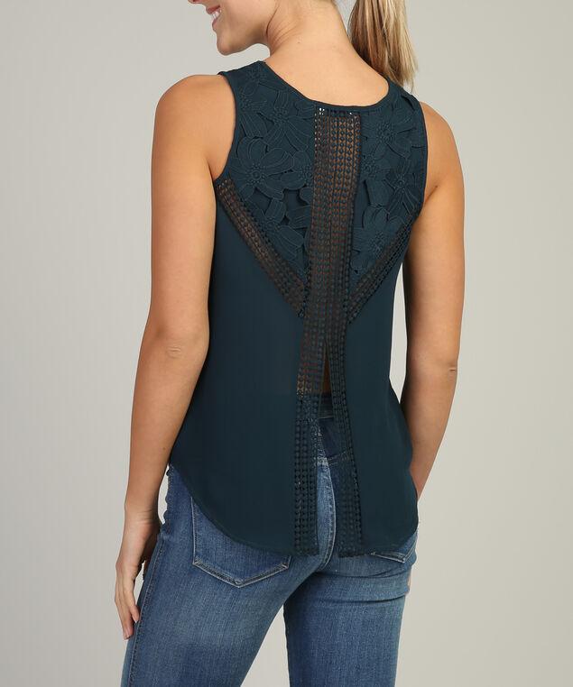 sleeveless top - wb, TEAL, hi-res