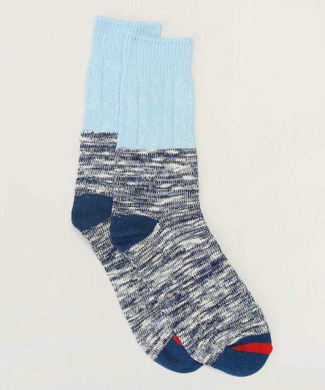 marled crew colour blocked socks, TWILIGHT MX, hi-res