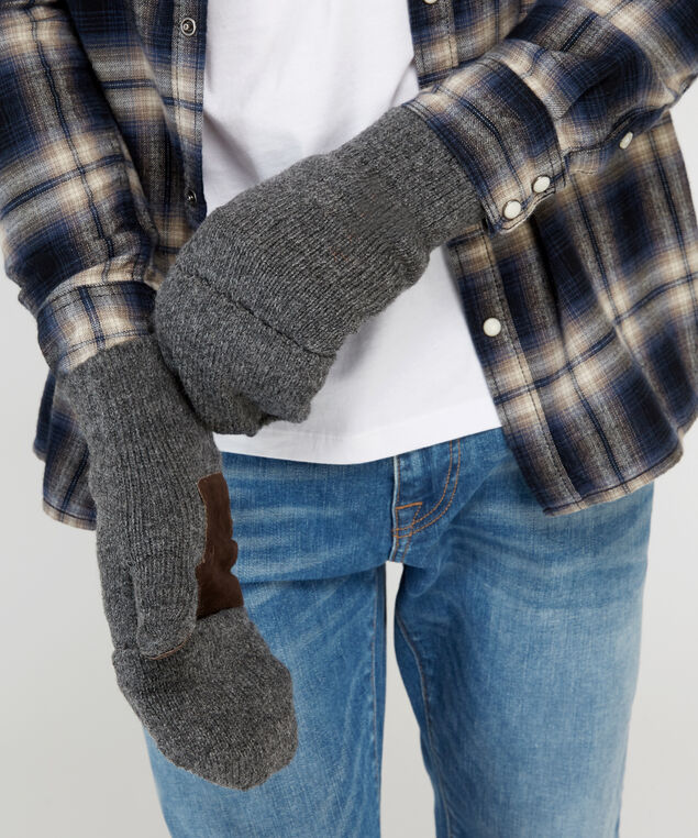 flip glove, GREY, hi-res