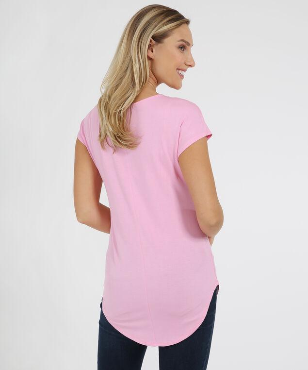 demi pink shirt, PINK, hi-res