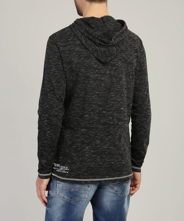 graphic hoodie - wb, BLACK, hi-res