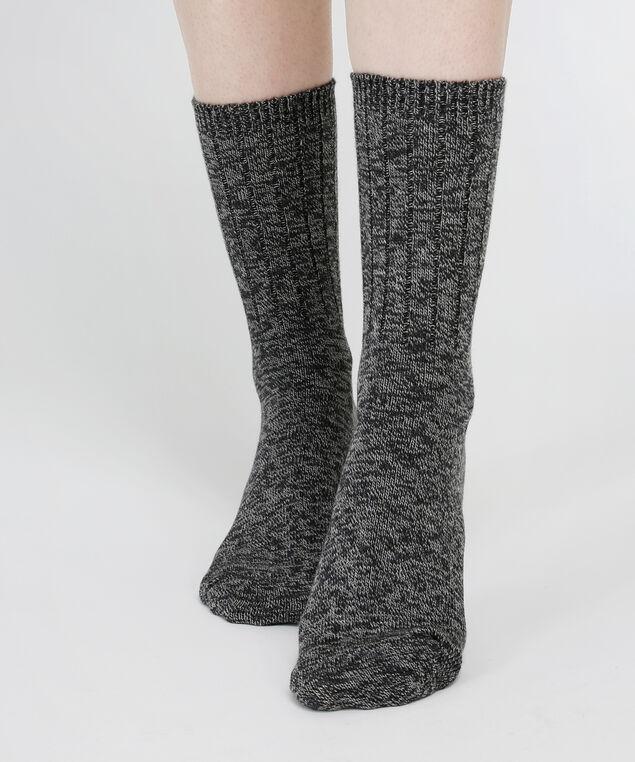 ribbed sock, CHARCOAL MIX, hi-res