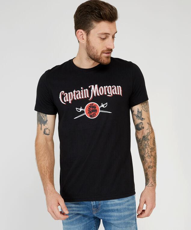 captain morgan tee, BLACK, hi-res
