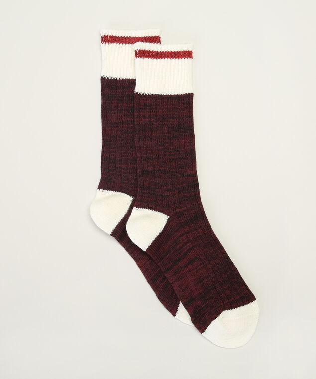 merlot cabin socks, MERLOT, hi-res