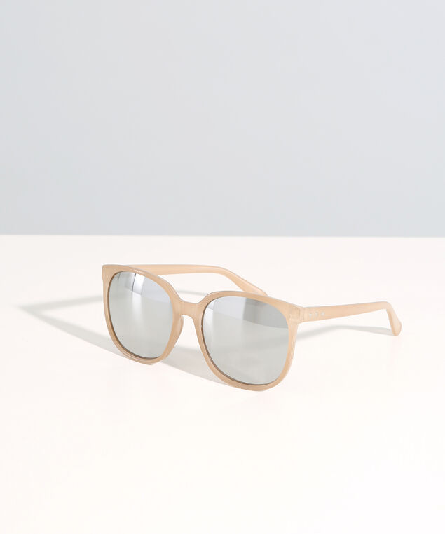 wayfarer with mirrored lenses, GOLD/MIRROR, hi-res