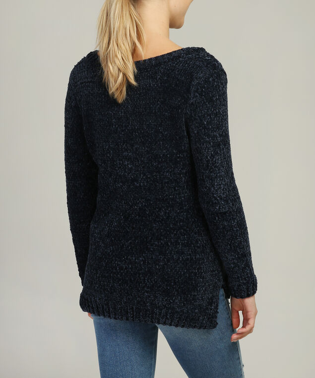 chenille - wb, NAVY, hi-res