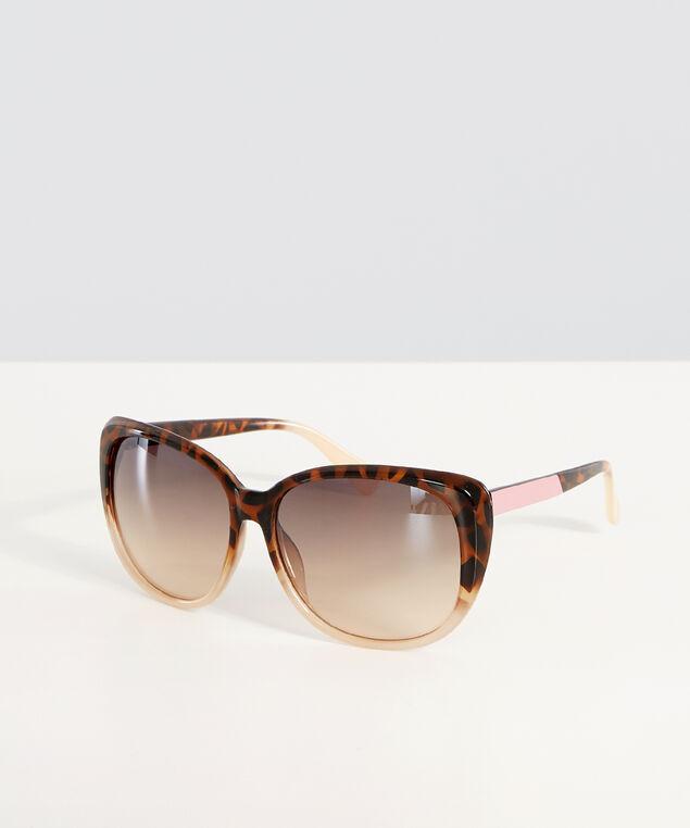 ombre tortoise sunglasses, BROWN, hi-res