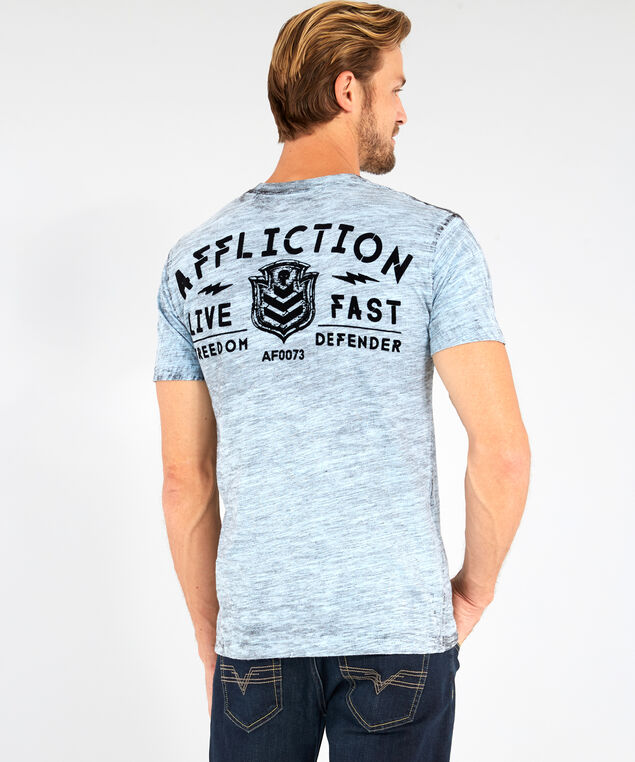 value freedom graphic tee, LIGHT BLUE, hi-res