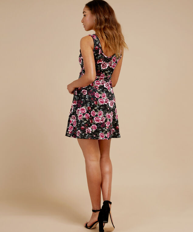 skater dress - wb, URBAN ROSE, hi-res