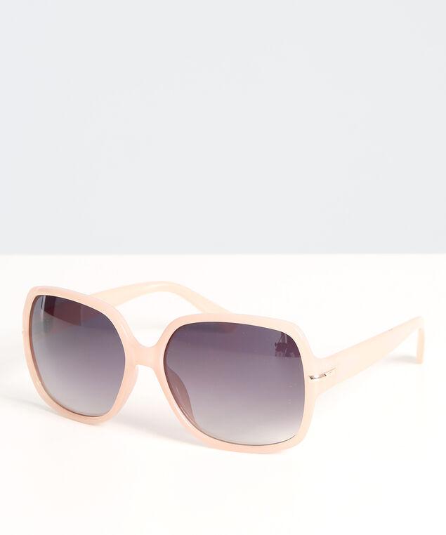 square pink sunglasses, PINK, hi-res