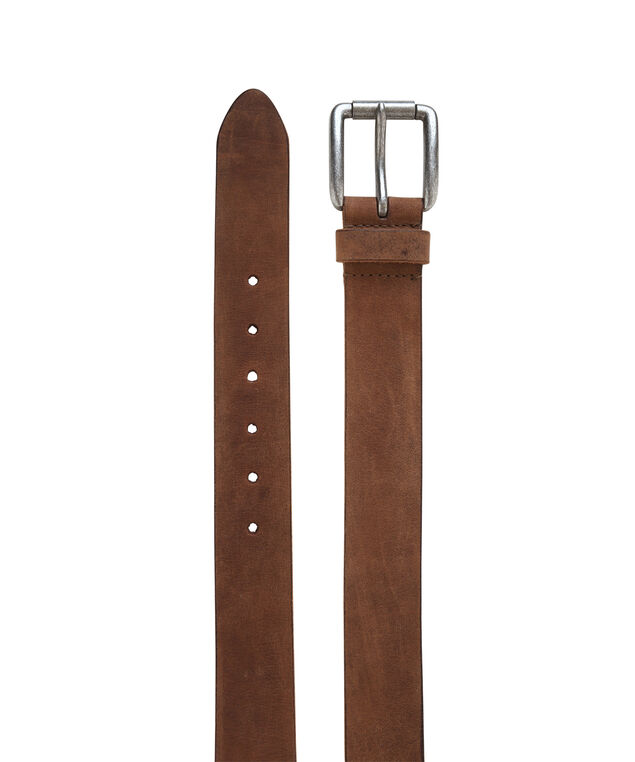 leather brown belt, BROWN, hi-res