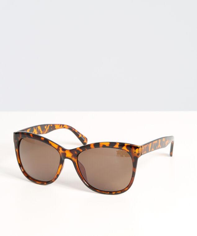 tortoise cat eye sunglasses, BROWN, hi-res