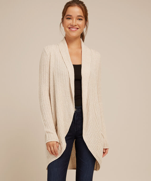 cocoon cardigan - wb, SAND, hi-res