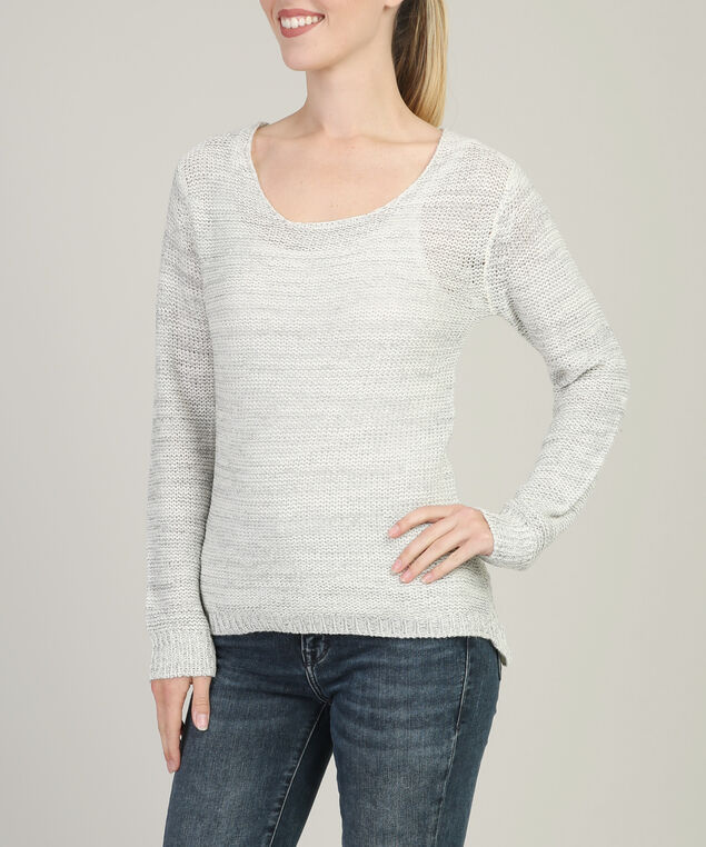 popover with pointelle back detail - wb, LIGHT GREY, hi-res