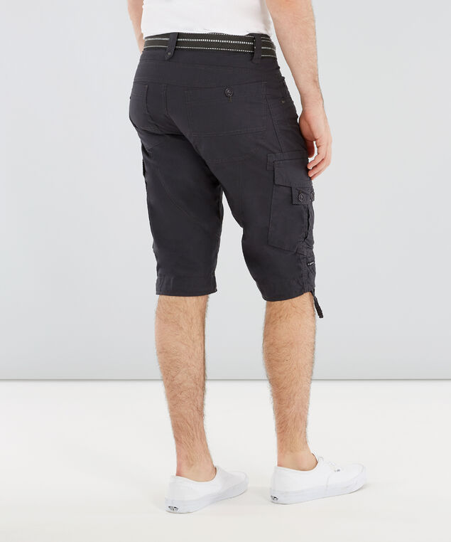 belted ripstop cargo short - wb, CHARCOAL, hi-res