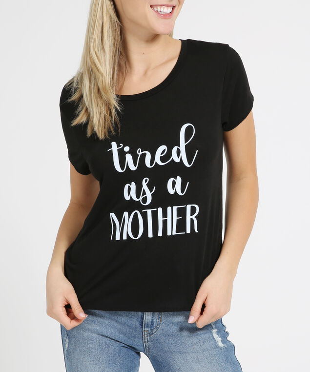 tired graphic tee, TIRED, hi-res