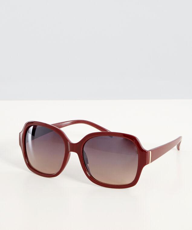burgundy sunglasses, BURGUNDY, hi-res