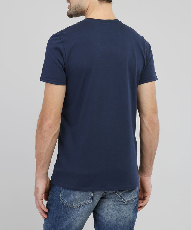american classic graphic tee, NAVY, hi-res