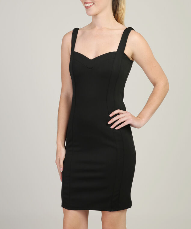 bodycon party dress - wb, BLACK, hi-res
