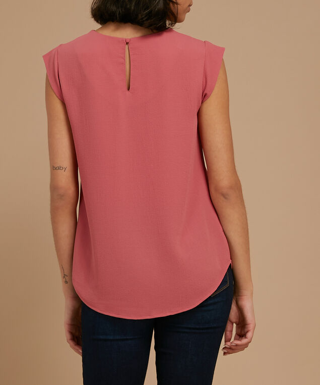 cut out detail blouse, NIGHTSHADE, hi-res