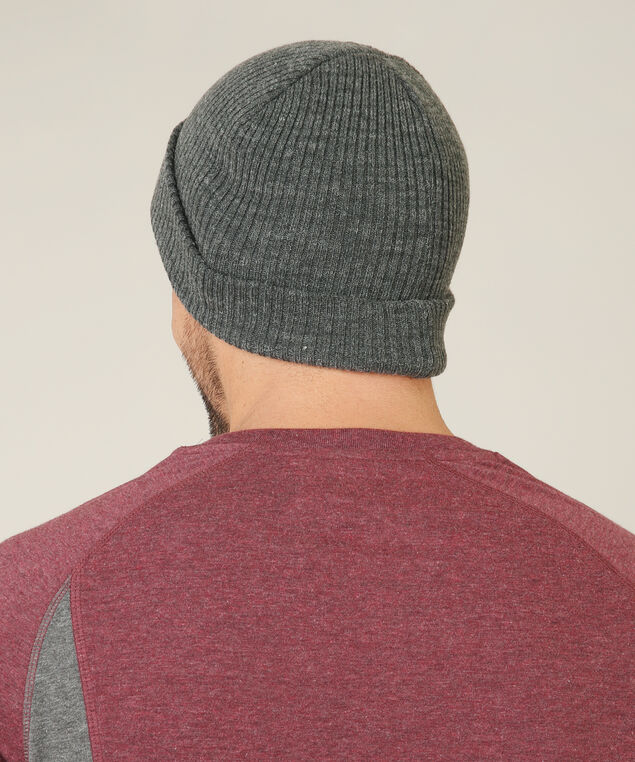 knit beanie, CHARCOAL, hi-res