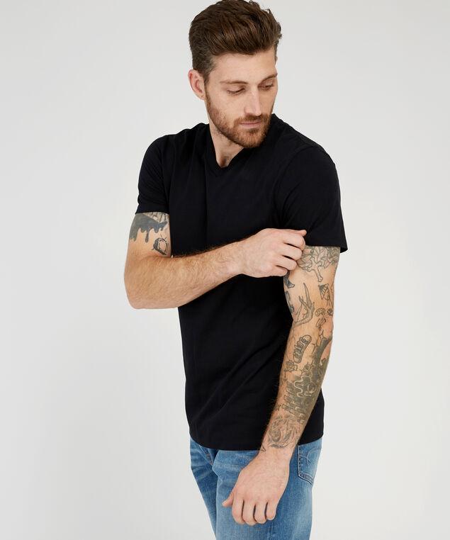 owen v-neck, BLACK, hi-res