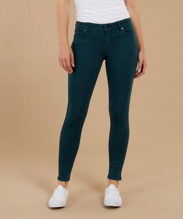 skinny ankle color f18 emerald, , hi-res