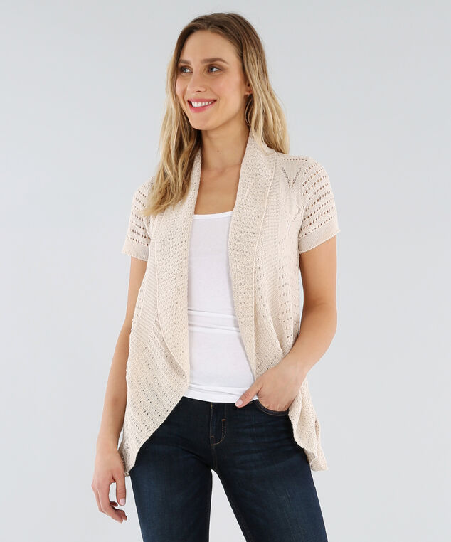 open cocoon cardigan - wb, NATURAL, hi-res