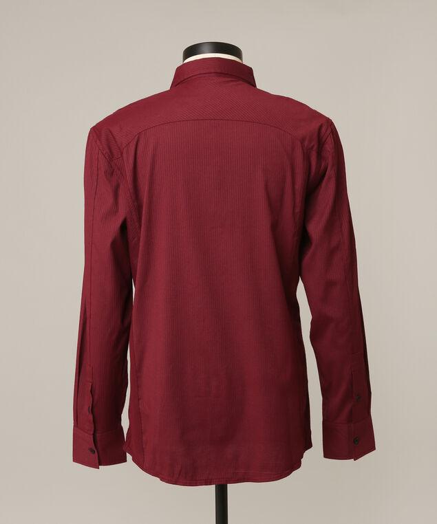 stripe shirt, ELDERBERRY, hi-res
