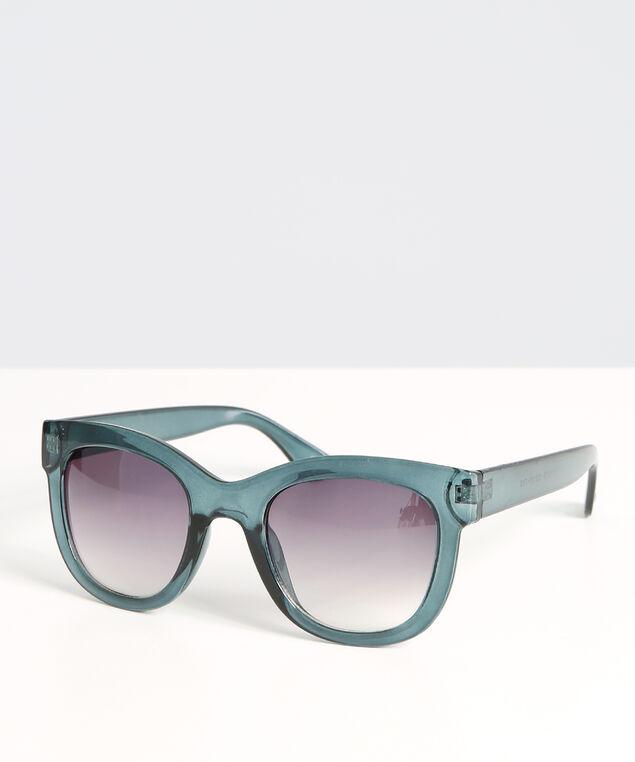 teal cat eye sunglasses, TEAL, hi-res