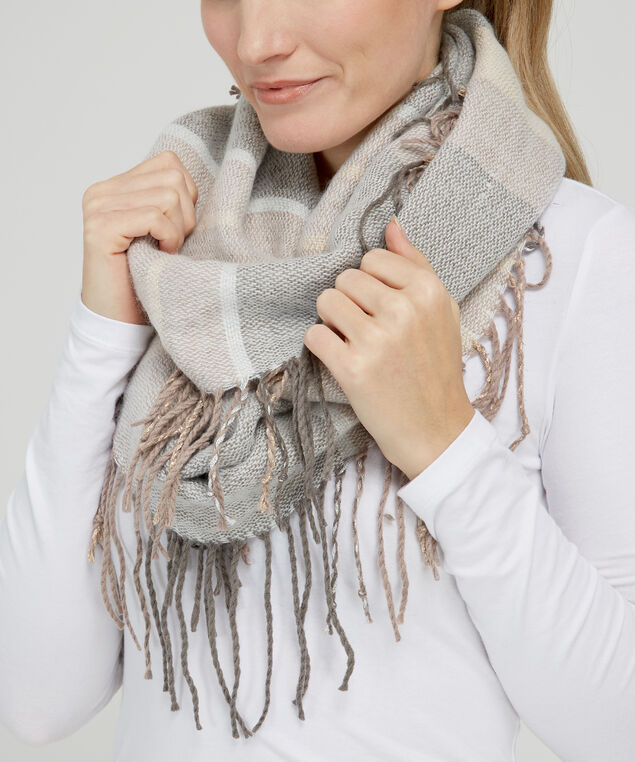 stripe infinity scarf, SPHINX, hi-res