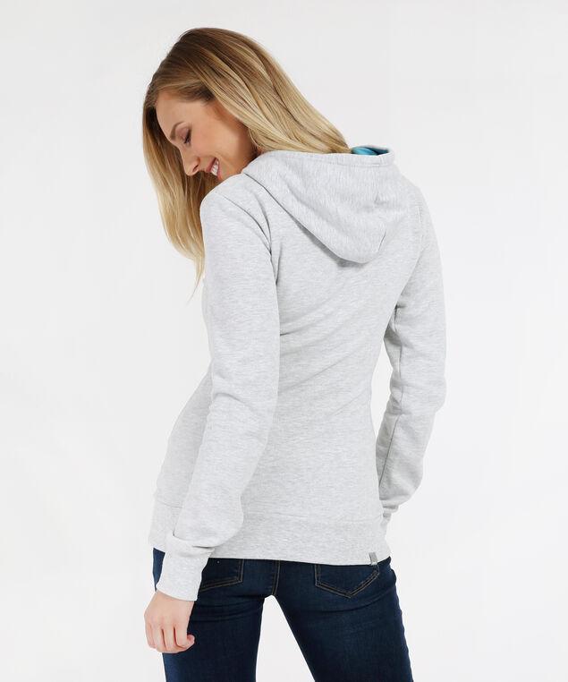 pullover hoodie - wb, LITE GREY MARBLE, hi-res